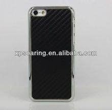 for iphone 5C mobile phone Fiber carbon case cover