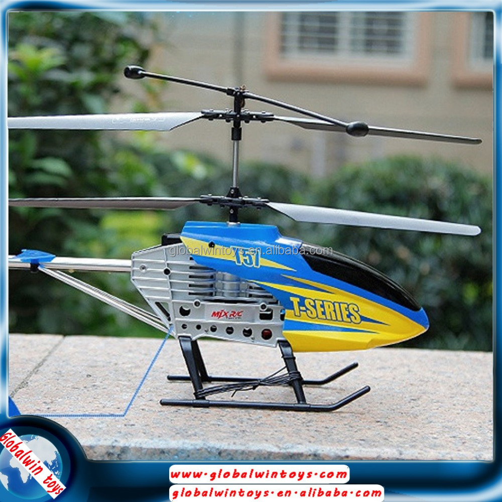 New helicopter for 2016 middle size alloy plane model rc gyro copter 2.4g 3ch radio controlled airplane aerocraft
