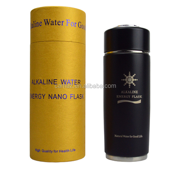 Factory wholesales 400ML Alkaline Tourmaline Nano energy water cup with filter PH 9.0