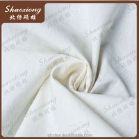 t/c 50/50 bleached fabric/polyester cotton white fabric, high quality made in China