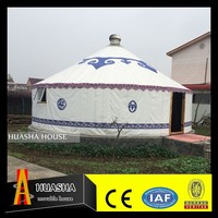 popular waterproof mongolian yurt for sale