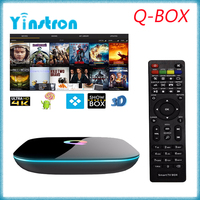 2016 Best high-quality Q-box Amlogic S905 kodi 2GB 16GB Android 5.1 android tv box