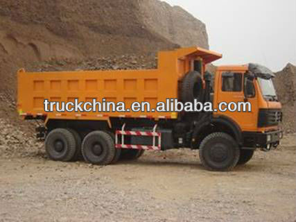 Beiben NG80 Power Star 6X4 dump tipper trucks
