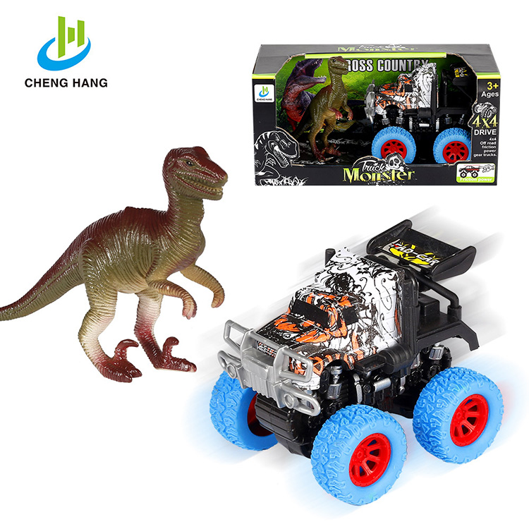 baby toys rc truck diecast car plastic <strong>friction</strong> toy animal and dinosaur cars truck toys for boys mini jeep for sale toy vehicle