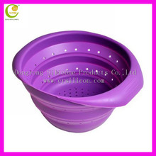 Travel camping silicone feeding bowl new design lovely cat silicone animal shaped bowls