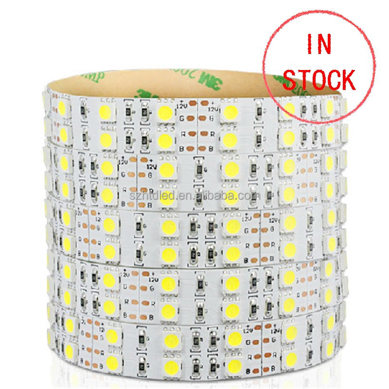 Waterproof Double Row RGB 120 leds/M 5M 600LED 5050 led Strip
