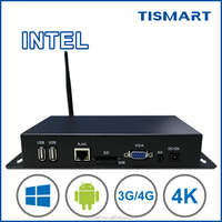 Most Popular full HD 1080P Advertising media player digital signage box media player box