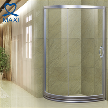 MAXI 2017 hot sale 2 sided glass circular shower enclosure