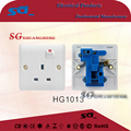 harge nager switches 13A British socket