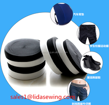 factory price woven braided polyester rubber elastic tape underwear