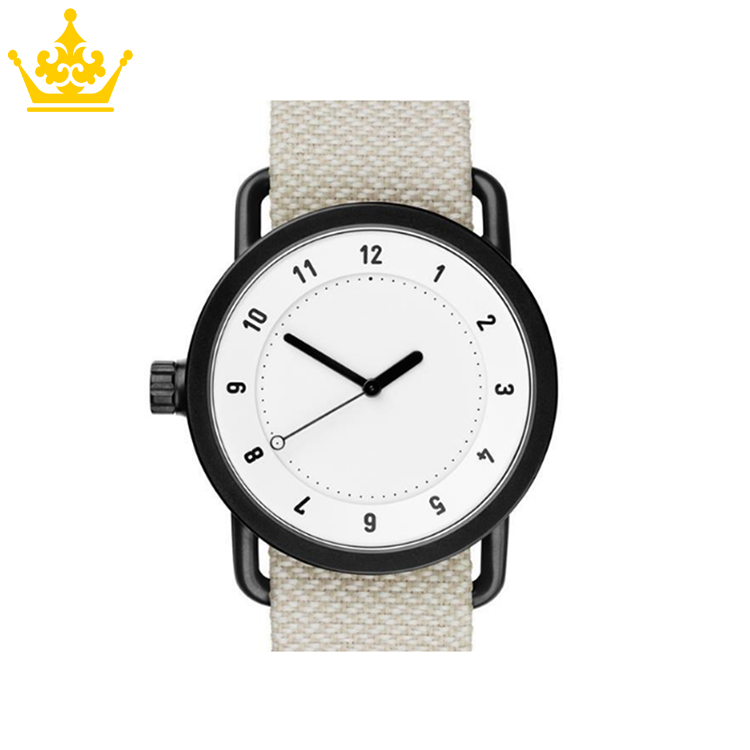Quartz Zinc Alloy Cheap Mens Nylon Strap Watch