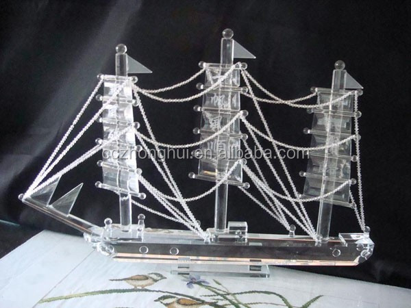 2016 perfect crystal ship model