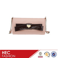 new style lady designer wholesale leather clutch bags for women