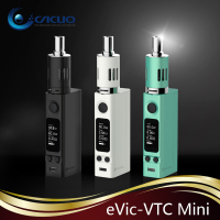100% original Joyetech eVic VTC Mini 60W TC full Kit with USB cable Cyan, Black, White in stock