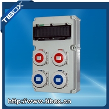 Industrial Plastic power combination Socket Box International standards