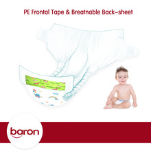 Happy and soft high absorption baby diapers nappies