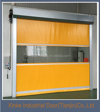 Xinke Carwash High speed PVC interior garage door