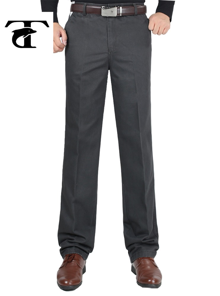 China manufacturer 100% cotton men business trousers formal trousers man