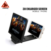 Portable Folding 3D Enlarged Screen mobile phone screen magnifier for All smart phone