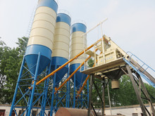 stabilized HZS50 cement ready mixed concrete batching plant