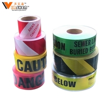 Factory Supply Plastic Caution Tape / Barrier Tape / Warning Tape