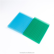 UV coating ten years guarantee polycarbonate hollow sheet for sale