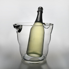 Plastic round food-safe liquor alcohol new champagne ice bucket