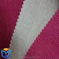 100% Polyester Burnout sofa fabric
