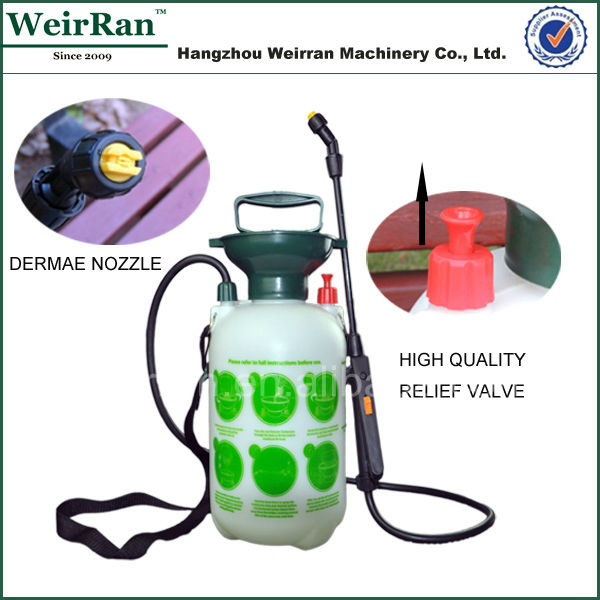 (102151) 5L pressure pump portable hand plastic wall paint sprayer