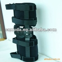 Rom knee Brace of hinged with CE and FDA