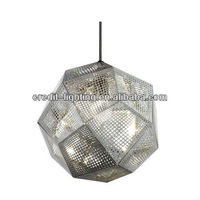 Lighting And Lamps Modern Chrome Silver Hanging Lighting Tom Dixon Etch Hanging Lighting