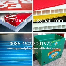 Plastic PP Polypropylene Recycled Coroplast