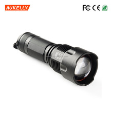 Most Powerful 1*26650 or 3* aaa battery xml t6 10 watt rechargeable led flashlight torch