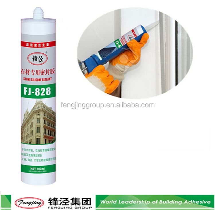 General purpose 280g black acid glass silicone sealant for wholesale