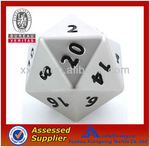 Best Quality New Custom 10mm Silver Metal Dices
