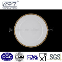 A002 wholesale decorative ceramic pizza dinner plate