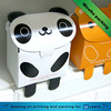 high quality cute panda shaped decorative cake boxes