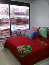 hot sales quilted velvet bed covers
