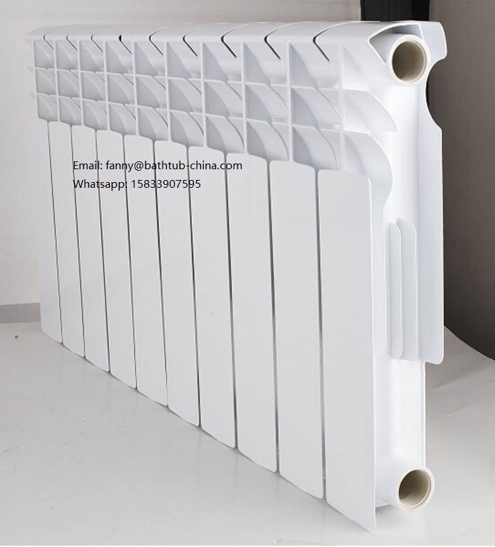 new style hot water die casting aluminum radiator for home heating
