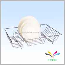 China manufacturer wholesale durable single tier hanging corner shelf wall mount metal shelves for small bathrooms