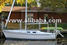 1976 Daysailer pop top swing keel C22 Sailboat