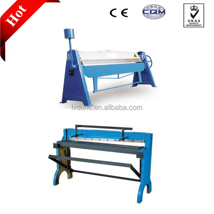 Hot sale Manual Fold Machine for air conduit