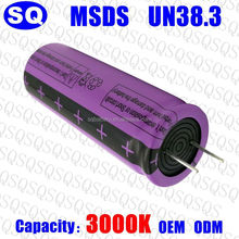 lto 2.4V 18650 rechargeable high discharge rate lithium titanate titanium oxide battery cell