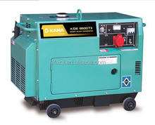 KAMA 6.25/6.875kva Three phase small diesel generator Silent type