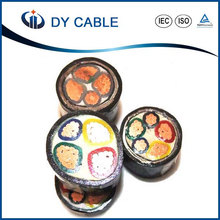 2017 PVC Cable Pakistan VV 3+1 Core 25mm Copper Electrical Cable