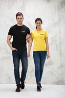 Wholesale Have stock Black color Tshirt Free sample Cheap High quality Breathable 100% cotton customized logo tshirt