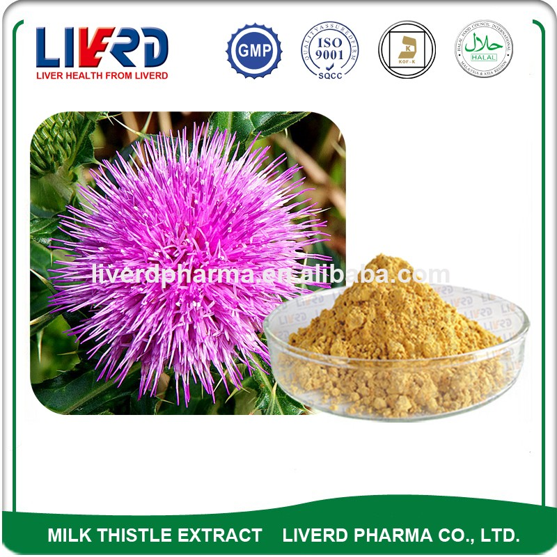 Original Manufaturer Supply Milk Thistle Extract for Softgel