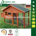 Wooden Chicken Coop Backyard Nest Box Wood Hen House Poultry Cage Hutch