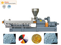 PE/EVA+titanium dioxide twin screw extruder
