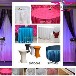 various material fancy table cover